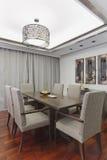 Dining room. Luxury dining room interior design Stock Photo