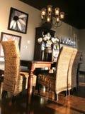 Dining Room. Beautiful Dining Room Stock Image