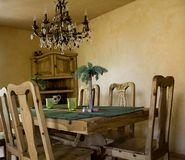 Dining Room. A hawaiian style dining room Royalty Free Stock Photography