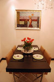 Dining room. In a modern house Stock Photo
