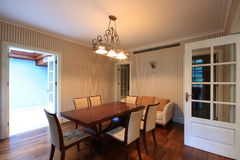 Dining room. Of an old lane house in Shanghai Stock Photography