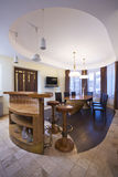 Dining room. Royalty Free Stock Image