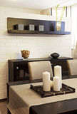 Dining room. Interior shot of a modern dining room Stock Image