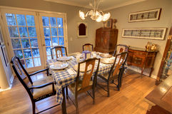 Dining Room stock photos
