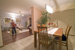 Dining Room Stock Photo