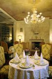 Dining room. Rich person in classical style Stock Images