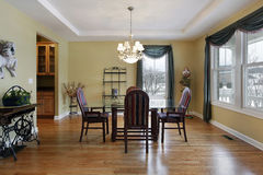 Dining room with butler's pantry Royalty Free Stock Image
