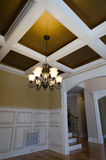 Dining room ceiling Royalty Free Stock Photos