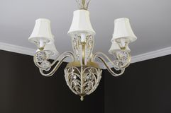 Dining Room Chandelier Royalty Free Stock Photos