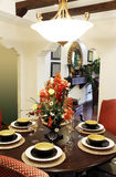 Dining room close-up royalty free stock photography