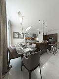 Dining room contemporary style Royalty Free Stock Photo