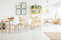 Dining room decor Royalty Free Stock Photography