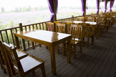 Dining room, dining table and chair Royalty Free Stock Photography