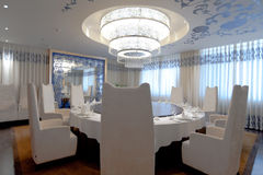 Dining room by Embroidery style No.2 Stock Photo