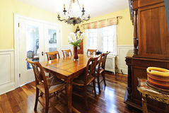 Dining room furniture Royalty Free Stock Photo