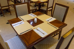 Dining room. Of the hotel Royalty Free Stock Photo