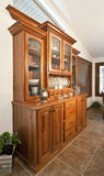 Dining Room Hutch Buffet Royalty Free Stock Photo