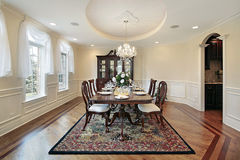 Free Dining Room In Luxury Home Royalty Free Stock Photography - 10077507