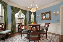 Free Dining Room In Luxury Home Royalty Free Stock Photos - 12627198