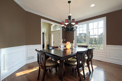 Free Dining Room In Luxury Home Royalty Free Stock Photos - 12627258