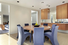 Free Dining Room In Luxury Home Royalty Free Stock Image - 12797946