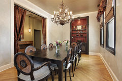 Free Dining Room In Luxury Home Stock Images - 16475904