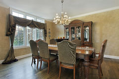 Free Dining Room In Luxury Home Stock Photo - 16476170