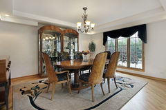 Free Dining Room In Luxury Home Stock Images - 16476514