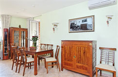 Dining room interior Royalty Free Stock Photos