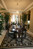 Dining Room Interior Royalty Free Stock Photo