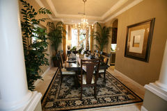 Dining Room Interior Stock Photos