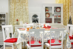 Dining room interior Stock Image