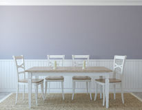 Dining-room interior. Stock Images