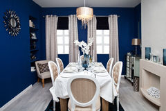 Dining room interior Stock Photography