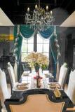 Dining room interior. Luxury dining room interior ,chongqing ,china royalty free stock photos