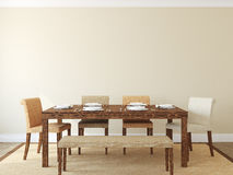 Dining-room interior. Stock Image