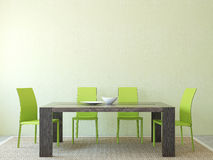 Dining-room interior. Stock Photography