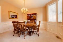 Dining room interior Stock Image