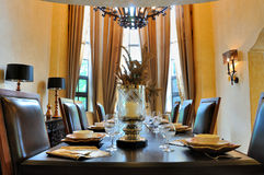 Dining room internal Stock Photography