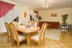 Dining Room/Living Room Stock Photo