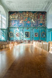 Dining room at Magdalene college, Cambridge, England. Royalty Free Stock Photography