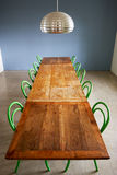 Dining Room In Modern House With Table And Chairs Royalty Free Stock Photography
