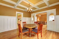 Dining room in an old house Royalty Free Stock Photo