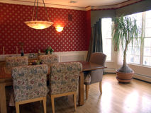 Dining room set Royalty Free Stock Image