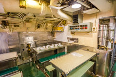 Dining room Submarine Royalty Free Stock Image