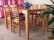 dining room table Στοκ Εικόνα