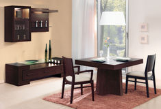 Dining room for two Stock Image