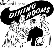 Dining Rooms Royalty Free Stock Image