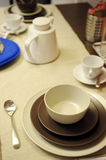 Dining set Stock Photography