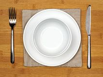 Dining set Royalty Free Stock Photo